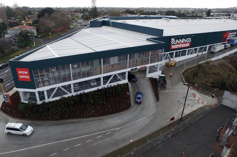 Bunnings New Lynn - Dominion Constructors Ltd