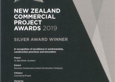 Award Certificate - Sale St (002)